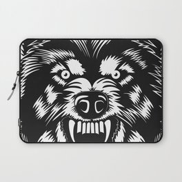 big bad wolf II Laptop Sleeve