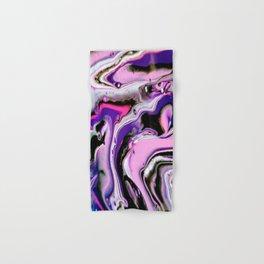 Acrylic Pour on The Floor Hand & Bath Towel