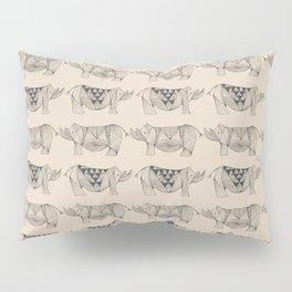 Rhino Lines Pillow Sham