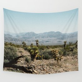 Nevada Desert Scene Wall Tapestry