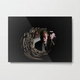 The most shocking event in the film history! Metal Print