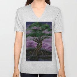 The World Tree Unisex V-Neck