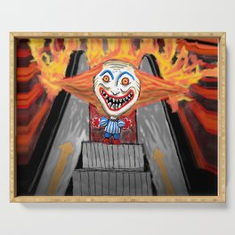Sick Again - Scary Clown Serving Tray
