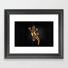Salamandra Framed Art Print