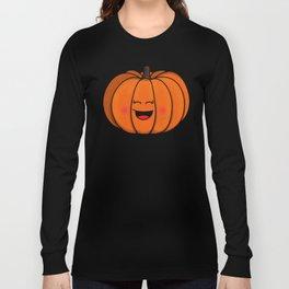 The happy pumpkin Long Sleeve T-shirt