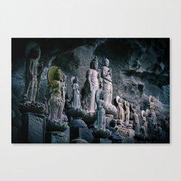 Nokogiriyama statues Canvas Print