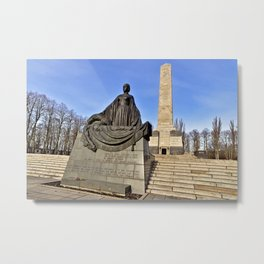 Soviet War Memorial of Berlin Metal Print