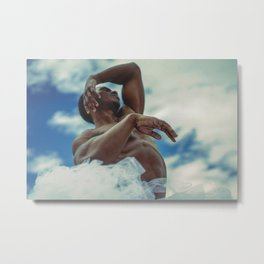 dance dance, otherwise we are lost. Metal Print