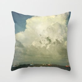Off to Work We Go Throw Pillow