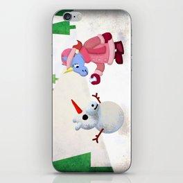 Snow Unicorn V02 iPhone Skin