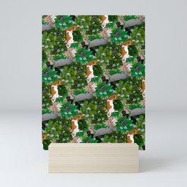 Catnip Garden Mini Art Print
