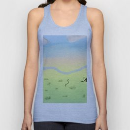 Dawn In The Australian Bush Unisex Tank Top