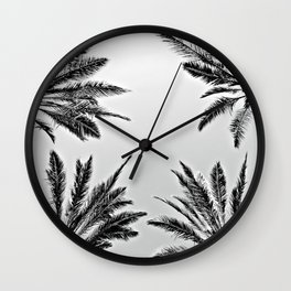 4 Palms Wall Clock