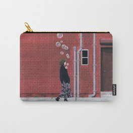 Bubble Girl Carry-All Pouch