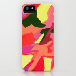 Linger Abstract Art iPhone Case