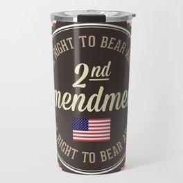 Second Amendment Travel Mug