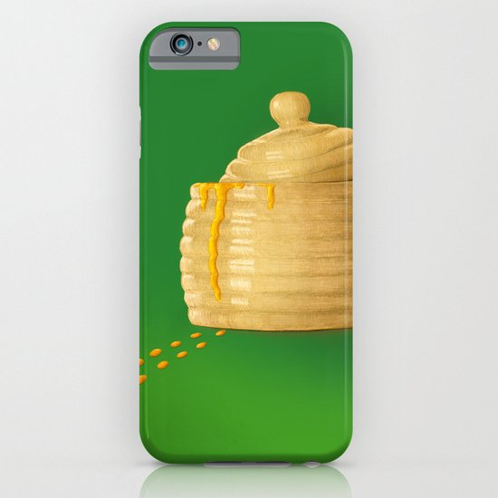 Dip Into The Honey Jar - Green Painting iPhone & iPod Case