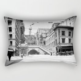 Angels Flight, Los Angeles 1910 Rectangular Pillow