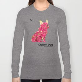 Dd - Dragon Dog // Half Dog, Half Dragon Fruit Long Sleeve T-shirt
