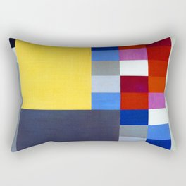 Sophie Taeuber Arp Vertical Horizontal Composition Rectangular Pillow