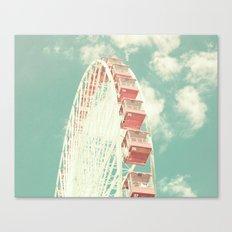Pastel Countdown Canvas Print
