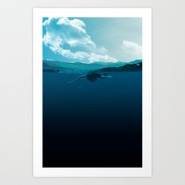 Falling Under Art Print