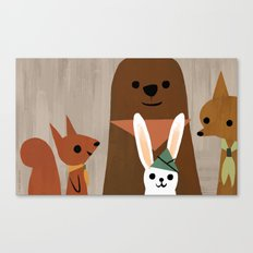 Forest Scouts Canvas Print