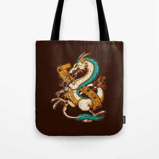 SPIRITED CREST Tote Bag