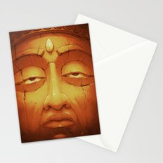 Buddha II Gold Stationery Cards