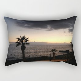 Storm in the Azores Rectangular Pillow