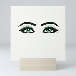 Starry eyed Mini Art Print