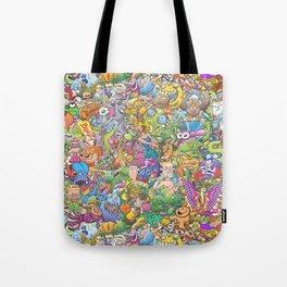 Creatures festival Tote Bag