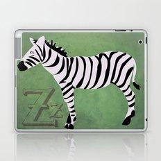 Sleepy Zzzzebra Laptop & iPad Skin