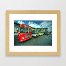 Bristol Line Up  Framed Art Print