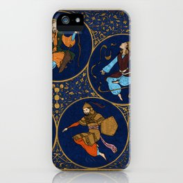 Amino Acid Horoscope iPhone Case