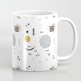 Minimal Pattern :: Color Shapes Coffee Mug