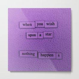 Wish Upon A Star Metal Print