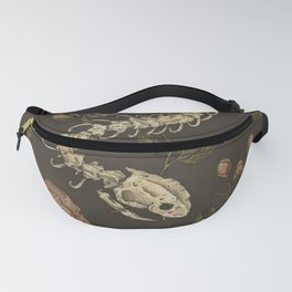 Snake Skeleton Fanny Pack