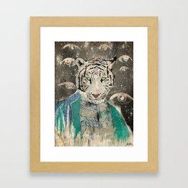 TIGA Framed Art Print