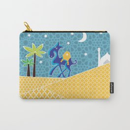 Moroccan camel scene Carry-All Pouch