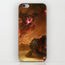 Kayn Rhaast Vs Sion Darius Login Screen Wallpaper Background Official Art League Of Legends iPhone Skin