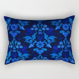 Oriental Damask Pattern Rectangular Pillow