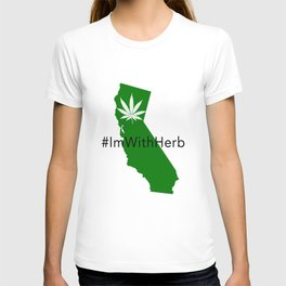 "#ImWithHerb ""Hash"" Tag T-Shirt T-shirt"