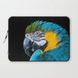Blue Yellow Macaw Parrot Laptop Sleeve