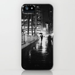 New York City Noir iPhone Case