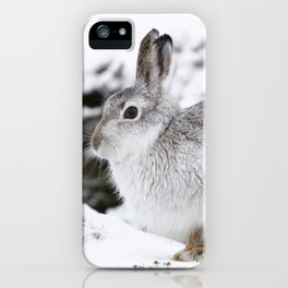 The white beast iPhone Case