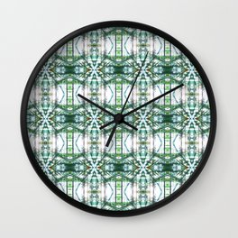 Pattern 48 Wall Clock