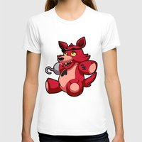 fnaf T-shirts featuring Foxy the Plush by GlacierK