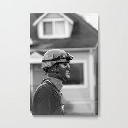 Vigilante Metal Print