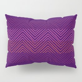 Triangle Ombre Transformation Pillow Sham
